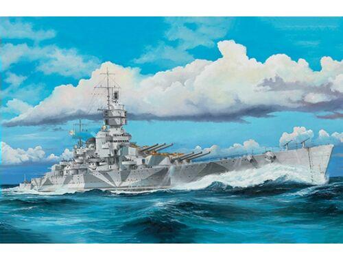 Trumpeter Italian Navy Battleship RN Vittorio Veneto 1940 1:350 (5320)