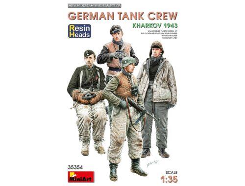 MiniArt German Tank Crew.Kharkov 1943. Resin Heads 1:35 (35354)