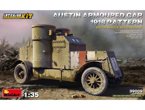 MiniArt Austin Armoured Car 1918 Pattern. British Service. Western Front . Interior Kit 1:35 (39009)