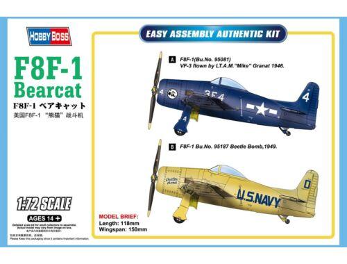 Hobby Boss F8F-1 Bearcat 1:72 (87267)