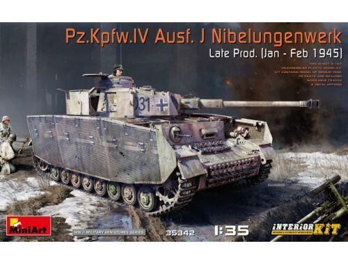 MiniArt Pz.Kpfw.IV Ausf. J Nibelungenwerk Late (1945) Interior Kit 1:35 (35342)