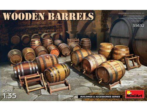 MiniArt Wooden Barrels 1:35 (35632)