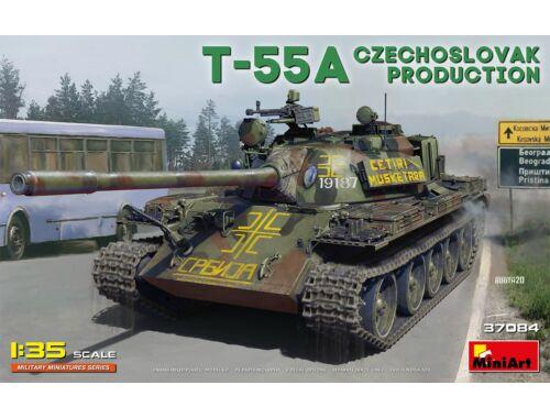 MiniArt T-55A Czechoslovak Prod. 1:35 (37084)