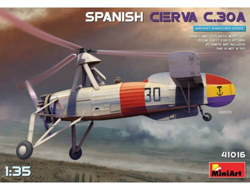 MiniArt Spanish Cierva C.30A 1:35 (41016)