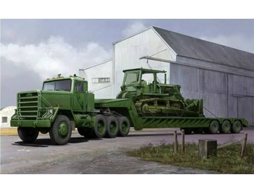 Trumpeter M920 Tractor tow M870A1 Semi Trailer 1:35 (1078)