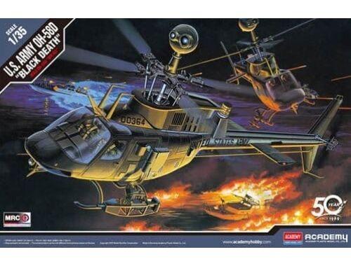 "Academy US ARMY OH-58D ""BLACK DEATH"" 1:35 (12131)"