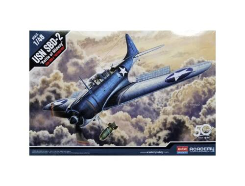 """Academy USN SBD-2 """"Midway"""" 1:48 (12335)"""