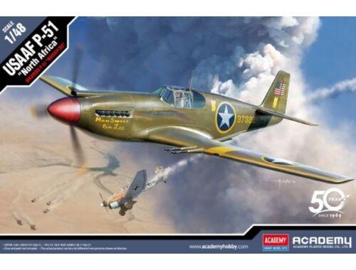 "Academy USAAF P-51 ""North Africa"" 1:48 (12338)"