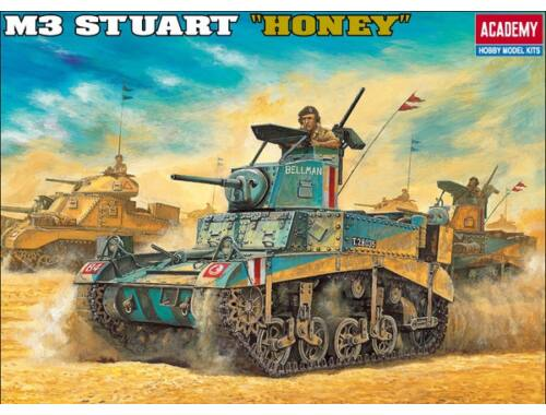 Academy BRITISH M3 STUART HONEY 1:35 (13270)