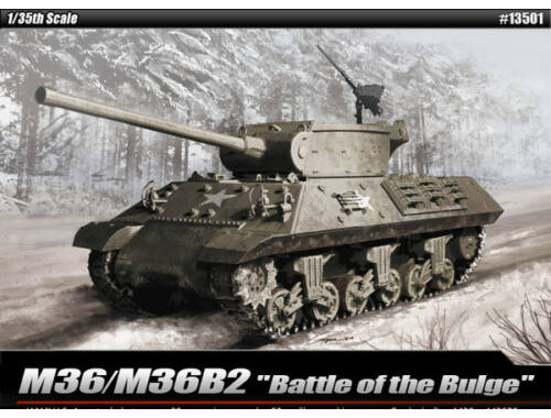 "Academy M36/M36B2 ""Battle of the Bulge"" 1:35 (13501)"