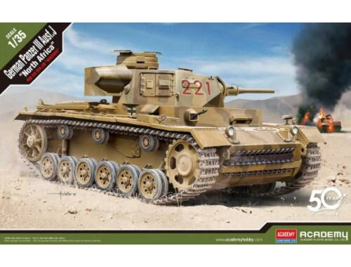 "Academy German Panzer III Ausf.J ""North Africa"" 1:35 (13531)"