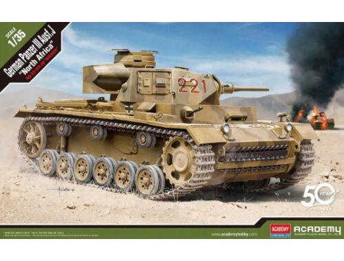 "Academy German Panzer III Ausf.J ""North Africa"" 1:35 (13531)"