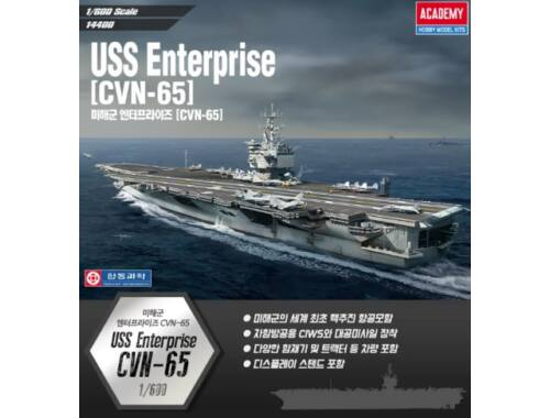 Academy USS Enterprise CVN-65 1:600 (14400)