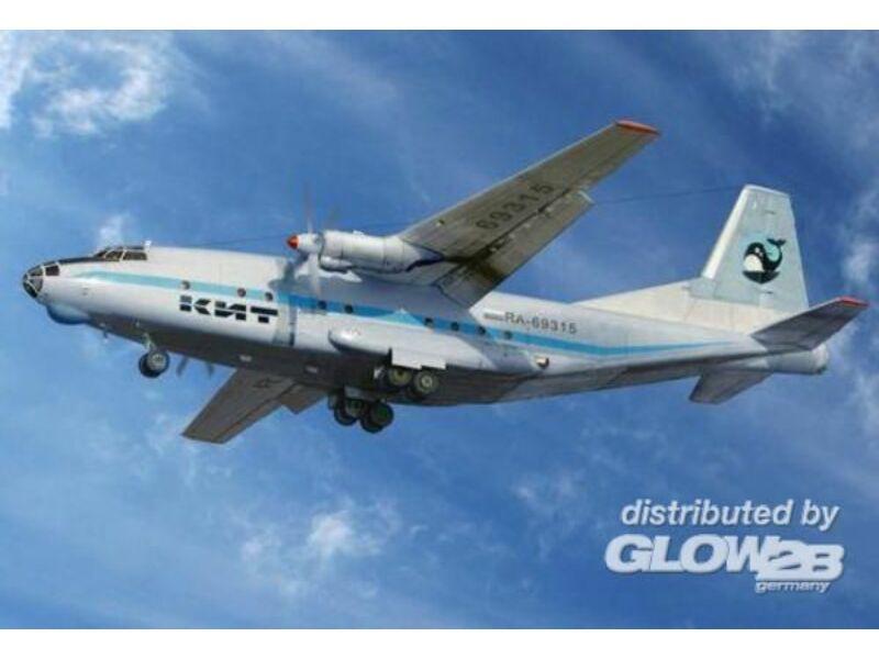 Amodel Antonov An-8 civil aircraft 1:72 (72228)