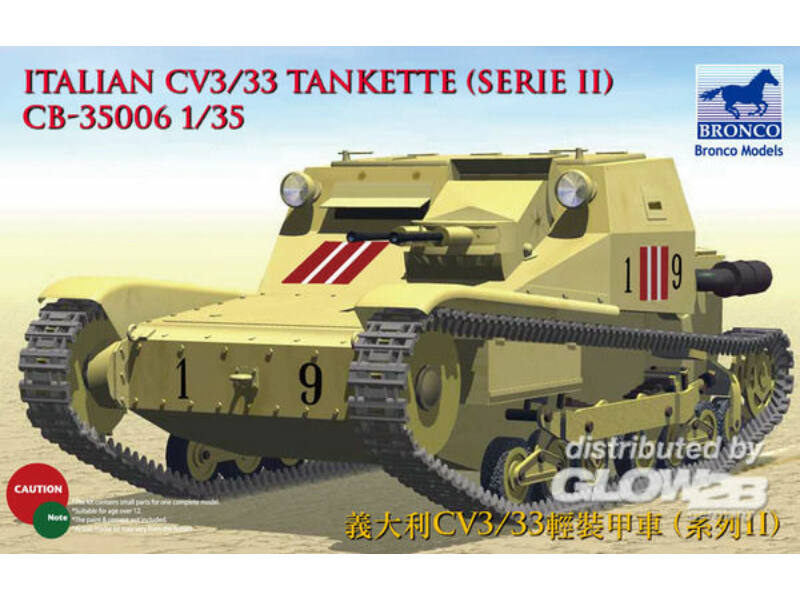 Bronco Models-CB35006 box image front 1