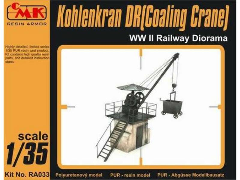 CMK Kohlekran DR(Coaling Crane) WW II Railway Di 1:35 (RA033)