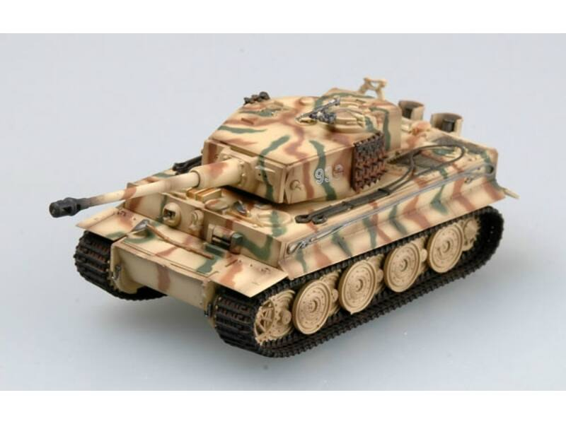 "Easy Model Tiger I (Late) ""Totenkopf"" Panzer Division 1944, Tiger 933 1:72 (36218)"