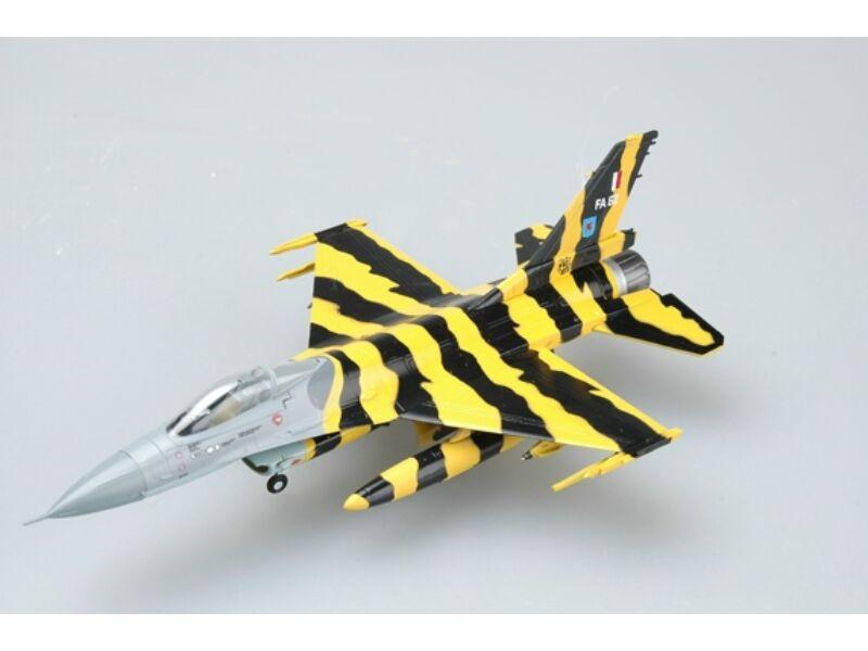 """Easy Model F-16A MLU BAF""""TIGER MEET"""" 1:72 (37127)"""