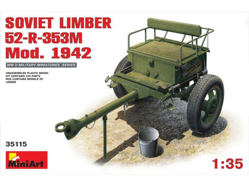 Miniart Soviet Limber 52-R-353M Mod.1942 1:35 (35115)