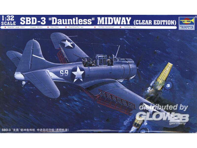 Trumpeter SBD-3 Dauntless Midway US Navy 1:32 (02244)