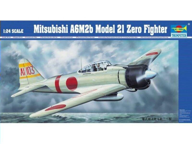 Trumpeter Mitsubishi A6M2b Zero Typ 21 1:24 (02405)