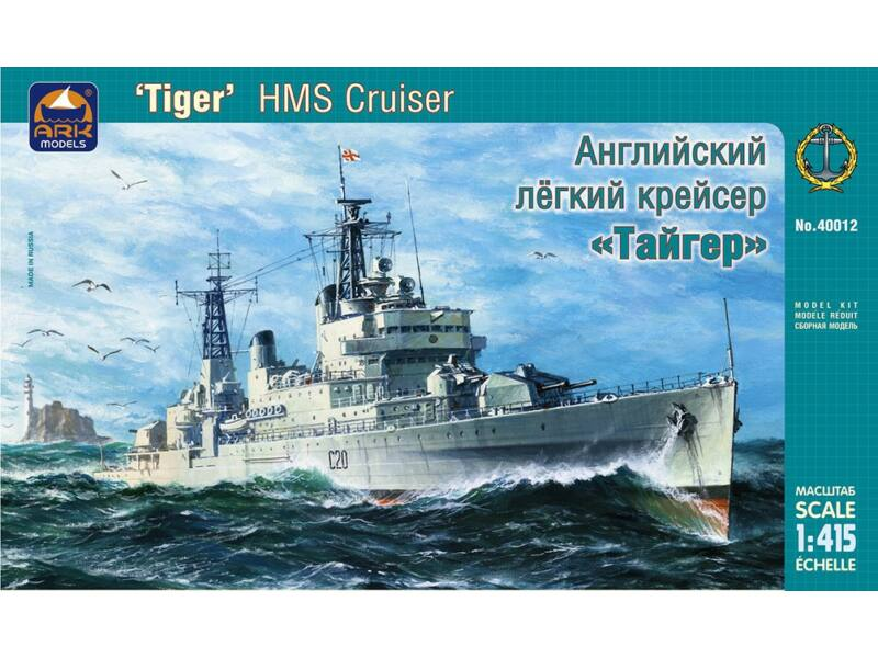 "ARK Model HMS cruiser ""Tiger"" Russian Navy Battleship 1:400 (40012)"