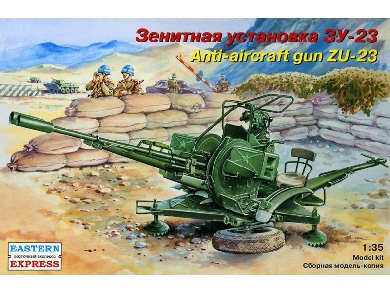 Eastern Express ZU-23-2 Russian anti-aircraft gun 1:35 (35135)