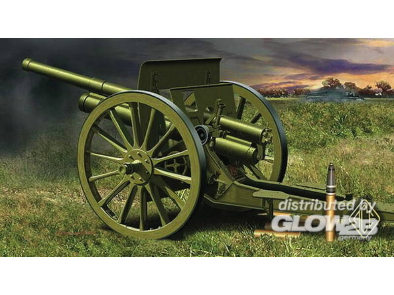ACE 76.2mm 3 inch Soviet gun 1902/1930 with limber 1:72 (ACE72252)