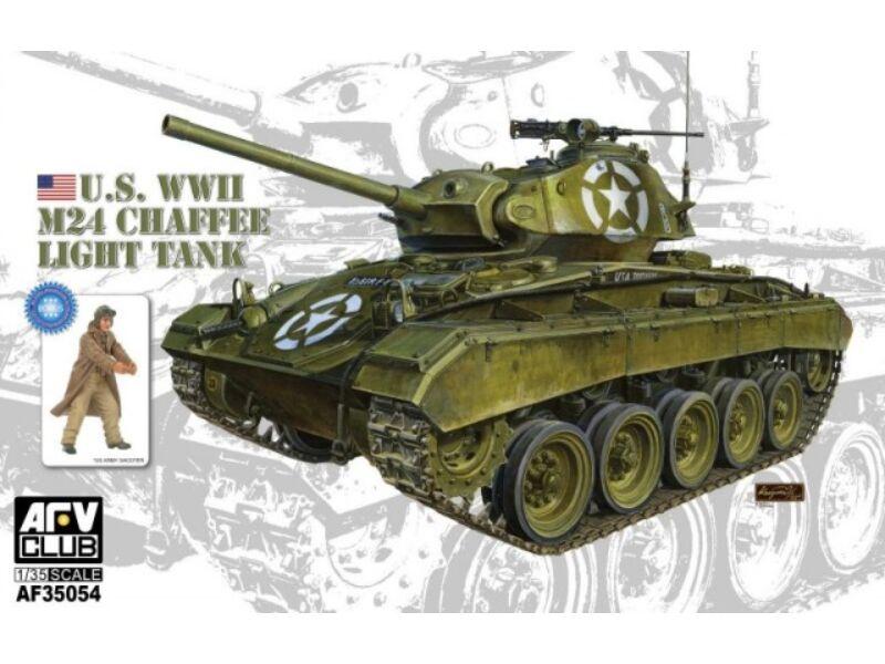 AFV Club WWII M24 Chaffee Light Tank 1:35 (AF35054)
