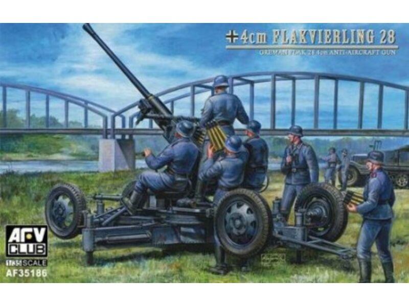AFV Club 40mm Flak 28 Bofors ww II German 1:35 (AF35186)