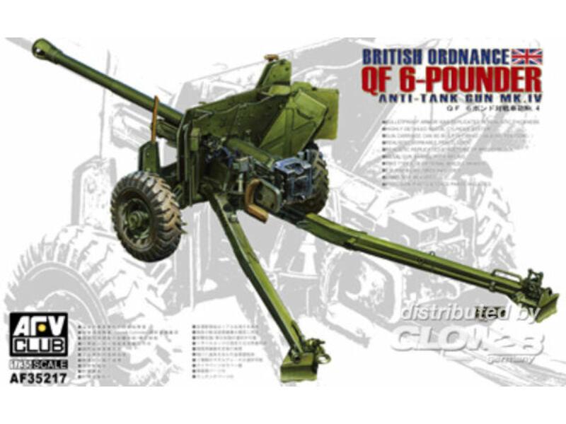 AFV Club British Mk.4 6pdr Anti-tank Gun 1:35 (AF35217)