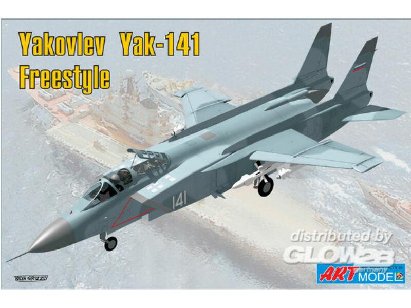 "ART Model Yakovlev Yak-141 ""Freestyle"" 1:72 (7205)"