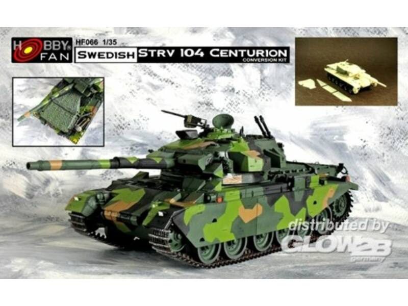 Hobby Fan Swedish STRV 104 Centurion 1:35 (HF066)