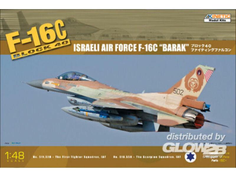 Kinetic F-16C Block 40 IDF Baraka 1:48 (48012)