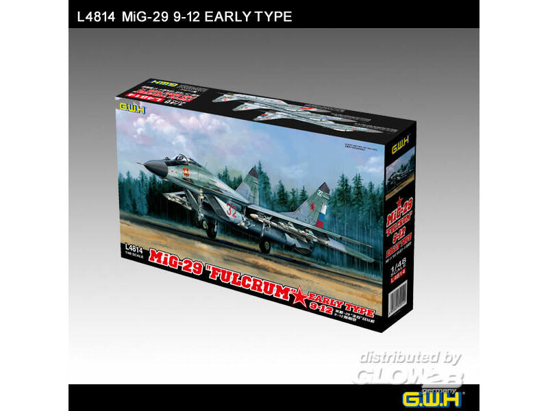 "Lion Roar MIG-29 9-12 Early Type ""Fulcrum"" 1:48 (L4814)"