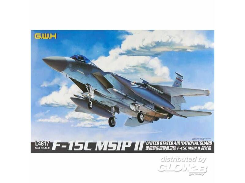 Lion Roar F-15C MSIP II United States Air Nati.Gua 1:48 (L4817)