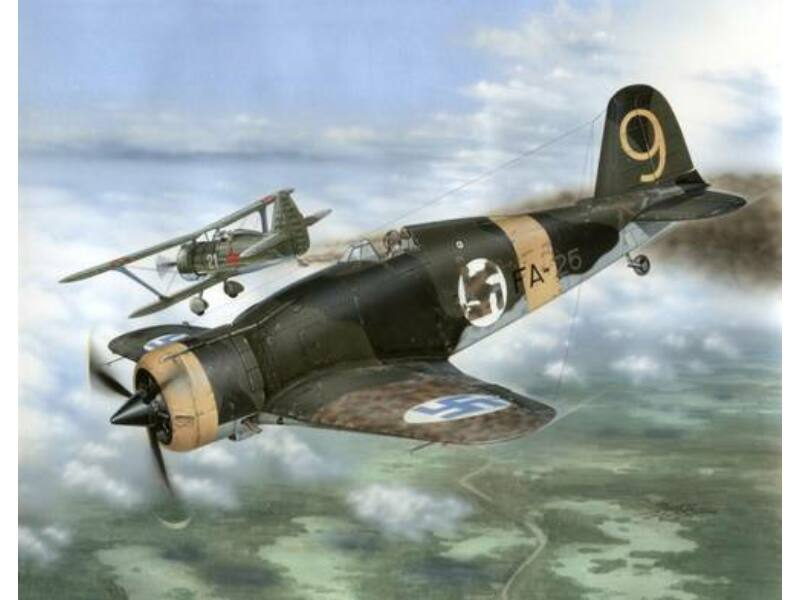 "Special Hobby Fiat G.50-II ""Finnish Service"" 1:32 (32044)"