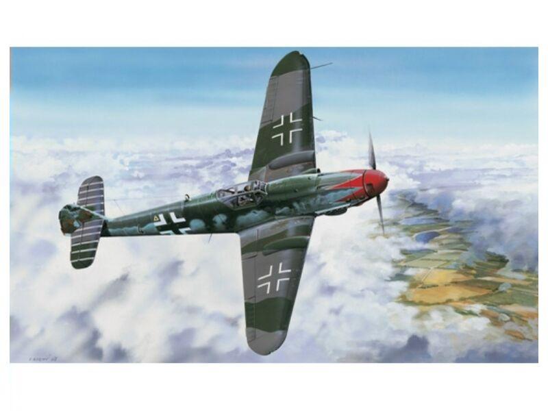 Trumpeter Messerschmitt Bf109 K-4 1:24 (02418)