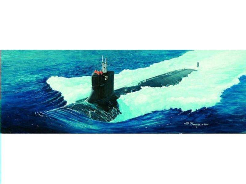 Trumpeter U-Boot USS SSN-21 Seawolf 1:144 (05904)