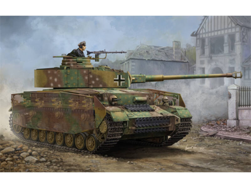 Trumpeter German Pzkpfw IV Ausf.J Medium Tank 1:16 (00921)