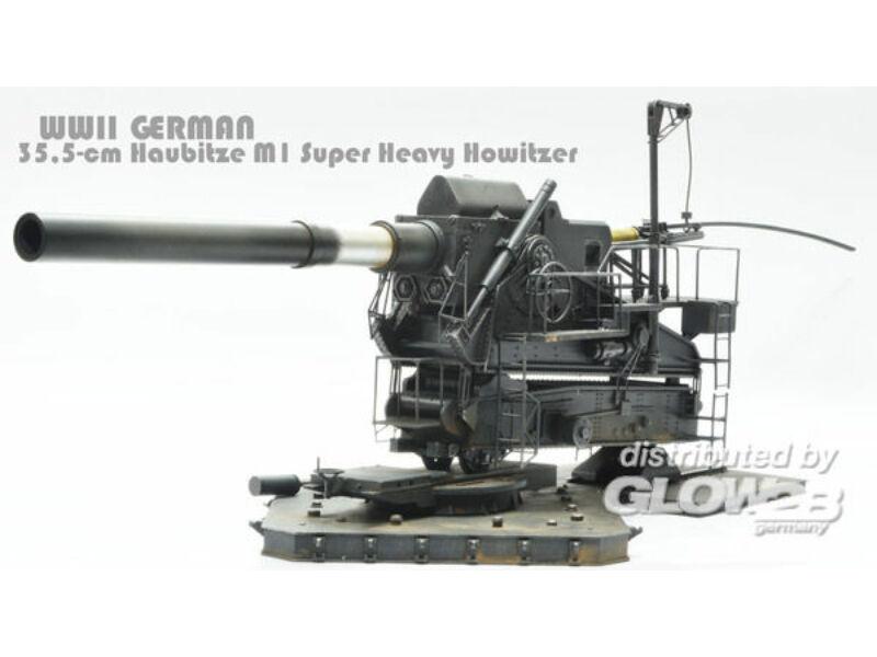 Glow2b M1 35,5cm schweres Geschütz WWII(Europa- -Exclusive) 1:35 (1539994)