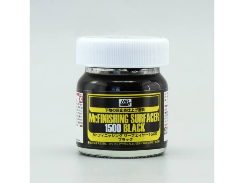 Mr.Hobby Mr.Finishing Surfacer 1500 Black (40 ml) SF-288