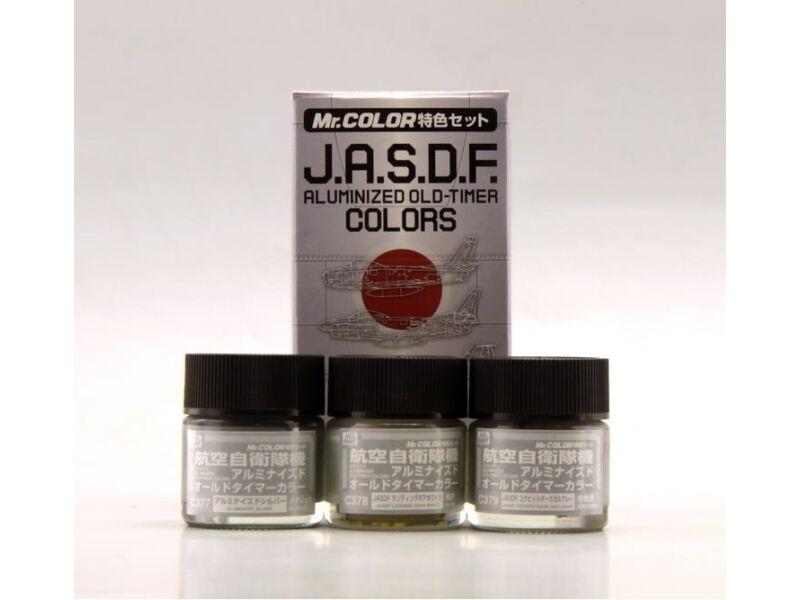 Mr.Hobby J.A.S.D.F. Aluminized Old-Timer Color Set CS-666