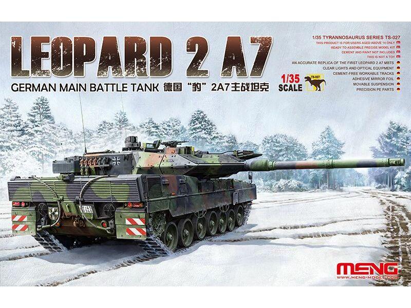 Meng German Main Battle Tank Leopard 2 A7 1:35 (TS-027)