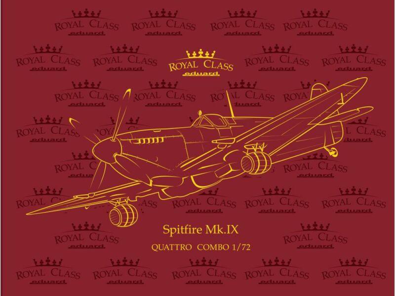 Eduard Spitfire Mk.IX QUATTRO COMBO ROYAL Class 1:72 (R0013)