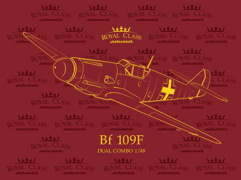 Eduard Bf 109F Dual Combo ROYAL Class 1:48 (R0014)