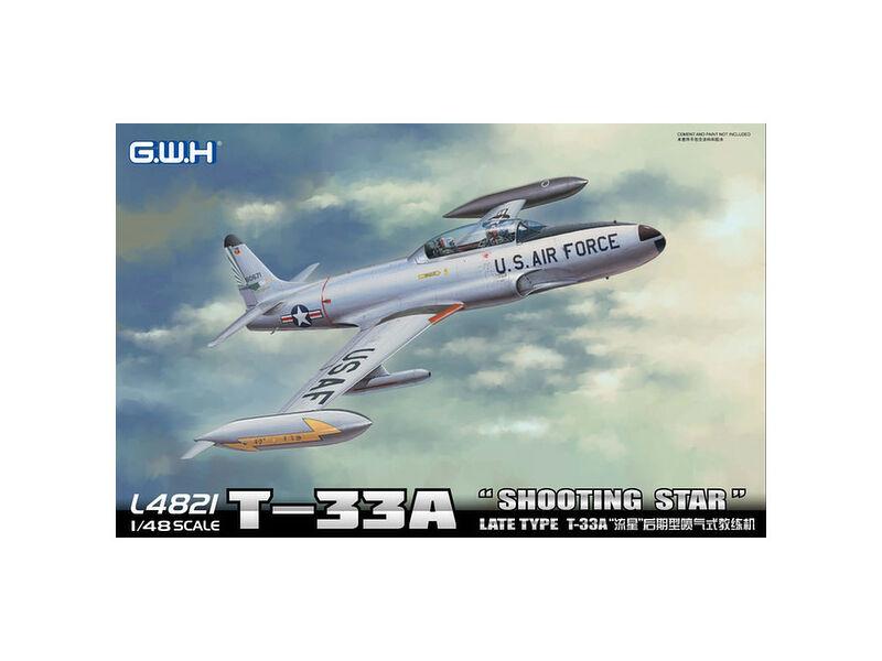 "Lion Roar T-33A Late Version""Shooting Star"" USAF 1:48 (L4821)"