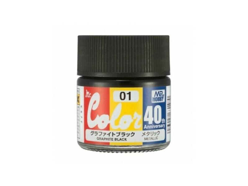 Mr.Hobby Mr.Color 40th AVC-01 Graphite Black