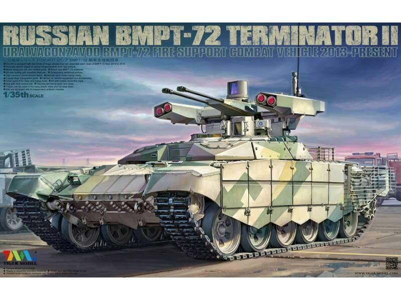 Tiger Model Russian BMPT-72 Terminator II 1:35 (4611)