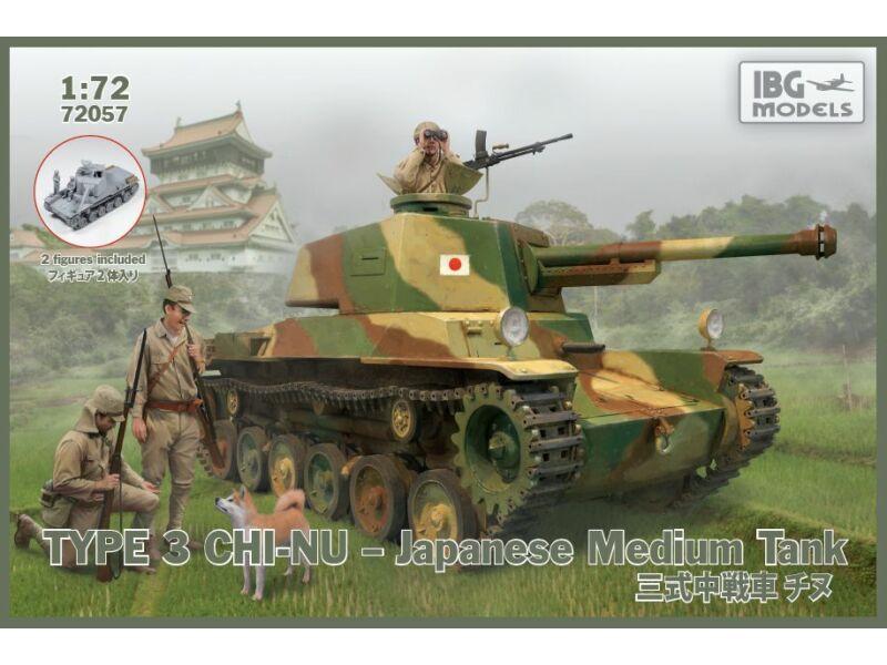 IBG Type 3 Chi-Nu Medium Tank 1:72 (72057)